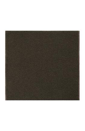 Мужской кашемировый шарф-снуд MOORER темно-зеленого цвета, арт. SCALDAC0LL0 BIC0L0RE-CWS/M0USC100001-TEPA177 | Фото 2