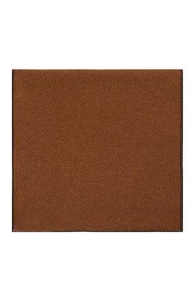 Мужской кашемировый шарф-снуд MOORER темно-коричневого цвета, арт. SCALDAC0LL0 BIC0L0RE-CWS/M0USC100001-TEPA177 | Фото 2 (Материал: Шерсть, Кашемир; Кросс-КТ: кашемир)
