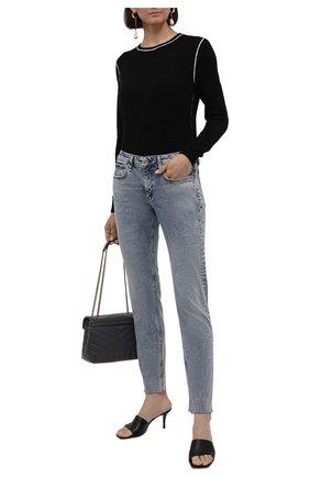 Женские джинсы RAG&BONE голубого цвета, арт. WDD21P2643BANR   Фото 2