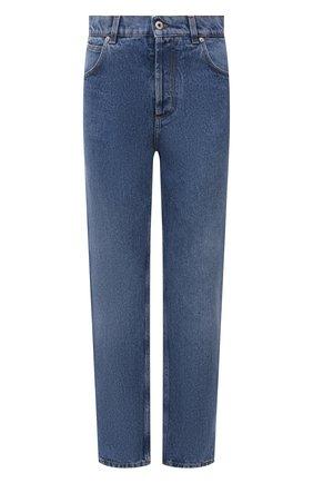 Женские джинсы LOEWE голубого цвета, арт. S359331XDJ | Фото 1