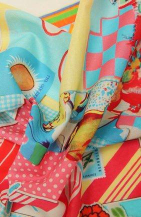 Женского хлопковая бандана LOEWE разноцветного цвета, арт. F811250X10 | Фото 2