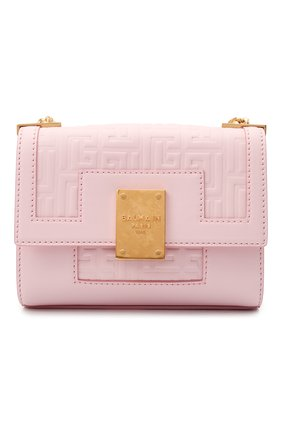 Женская сумка 1945 small BALMAIN светло-розового цвета, арт. WN1BJ651/LESP   Фото 1