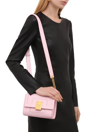 Женская сумка 1945 small BALMAIN светло-розового цвета, арт. WN1BJ651/LESP   Фото 2