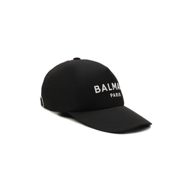 Хлопковая бейсболка Balmain