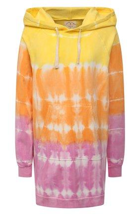 Женский хлопковое худи ELECTRIC&ROSE разноцветного цвета, арт. LFCV44-SH0CKWAVE | Фото 1