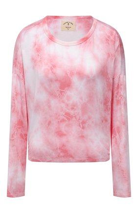 Женский лонгслив ELECTRIC&ROSE светло-розового цвета, арт. LFCV31-BL00M | Фото 1