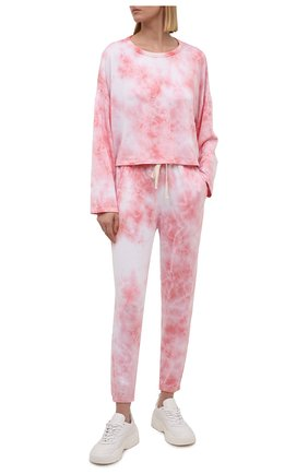 Женский лонгслив ELECTRIC&ROSE светло-розового цвета, арт. LFCV31-BL00M | Фото 2