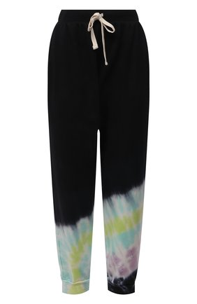Женские хлопковые джоггеры ELECTRIC&ROSE черного цвета, арт. LFBT14-BEAM | Фото 1 (Материал внешний: Хлопок; Длина (брюки, джинсы): Стандартные; Женское Кросс-КТ: Джоггеры - брюки, Брюки-спорт; Стили: Спорт-шик; Силуэт Ж (брюки и джинсы): Джоггеры)