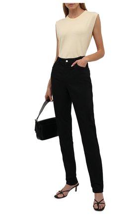 Женские джинсы EMPORIO ARMANI черного цвета, арт. 8N2J18/2DL1Z   Фото 2