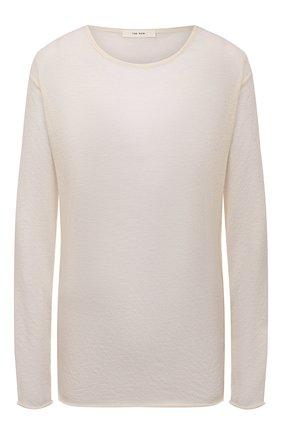 Женский кашемировый пуловер THE ROW кремвого цвета, арт. 5724K52 | Фото 1