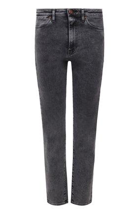 Женские джинсы 3X1 серого цвета, арт. W3XCS1096/MACHINE   Фото 1