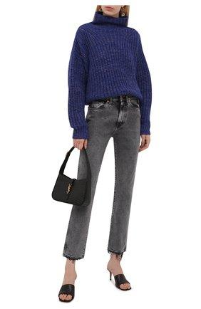Женские джинсы 3X1 серого цвета, арт. WP017966/MACHINE   Фото 2