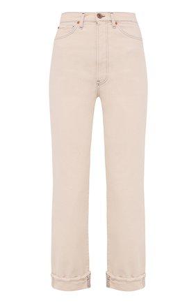 Женские джинсы 3X1 кремвого цвета, арт. WP040952/CHALK DUST   Фото 1
