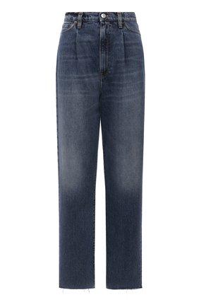 Женские джинсы 3X1 синего цвета, арт. WX1091097/MIDLAND   Фото 1