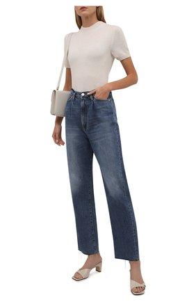 Женские джинсы 3X1 синего цвета, арт. WX1091097/MIDLAND   Фото 2