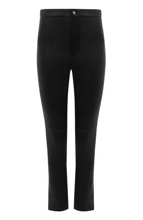 Женские кожаные брюки ISABEL MARANT черного цвета, арт. PA2013-21A005I/AJULIK0 | Фото 1