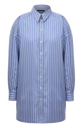 Женская шелковая рубашка ISABEL MARANT светло-голубого цвета, арт. CH0776-21A018I/SACALI | Фото 1