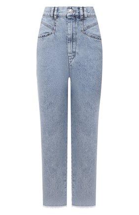 Женские джинсы ISABEL MARANT голубого цвета, арт. PA2002-21A017I/DILALI | Фото 1