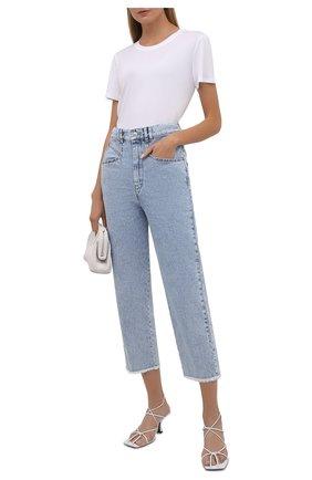 Женские джинсы ISABEL MARANT голубого цвета, арт. PA2002-21A017I/DILALI | Фото 2
