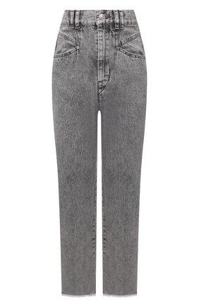 Женские джинсы ISABEL MARANT светло-серого цвета, арт. PA2002-21A017I/DILALI | Фото 1