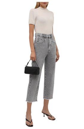 Женские джинсы ISABEL MARANT светло-серого цвета, арт. PA2002-21A017I/DILALI | Фото 2