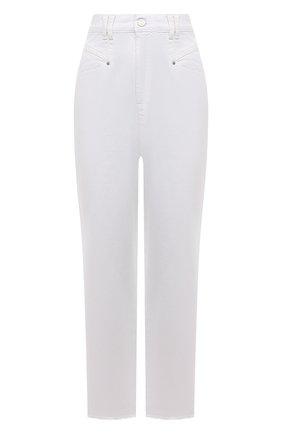 Женские джинсы ISABEL MARANT белого цвета, арт. PA2002-21A017I/DILALI | Фото 1