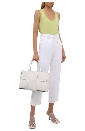 Женские джинсы ISABEL MARANT белого цвета, арт. PA2002-21A017I/DILALI | Фото 2