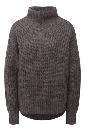 Женский шерстяной свитер ISABEL MARANT темно-серого цвета, арт. PU1413-21A038I/IRIS | Фото 1