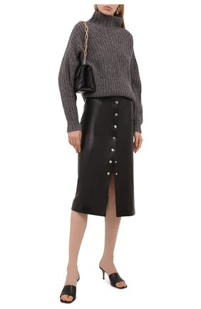 Женский шерстяной свитер ISABEL MARANT темно-серого цвета, арт. PU1413-21A038I/IRIS | Фото 2