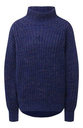 Женский шерстяной свитер ISABEL MARANT синего цвета, арт. PU1413-21A038I/IRIS | Фото 1