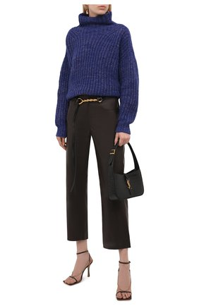Женский шерстяной свитер ISABEL MARANT синего цвета, арт. PU1413-21A038I/IRIS | Фото 2