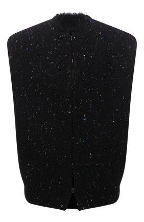 Женский шерстяной жилет ISABEL MARANT черного цвета, арт. VE1678-21A011I/GWENDAZI | Фото 1