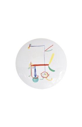 Салатная тарелка joan miro BERNARDAUD разноцветного цвета, арт. 1890/21260 | Фото 1 (Интерьер Кросс-КТ: посуда детская)