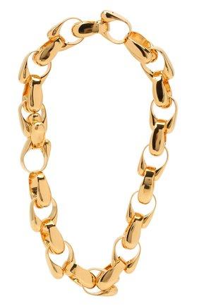 Женское колье JIL SANDER золотого цвета, арт. JSWS831163/WSS80045   Фото 1