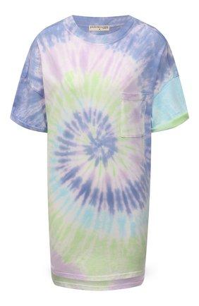Женская хлопковая футболка ELECTRIC&ROSE разноцветного цвета, арт. LFJP05-AURA | Фото 1