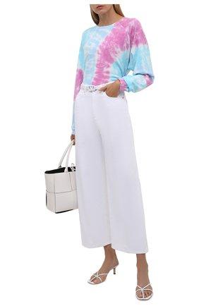 Женский хлопковый свитшот ELECTRIC&ROSE разноцветного цвета, арт. LFCV59-PRISM | Фото 2 (Рукава: Длинные; Материал внешний: Хлопок; Длина (для топов): Стандартные; Женское Кросс-КТ: Свитшот-одежда; Стили: Спорт-шик)