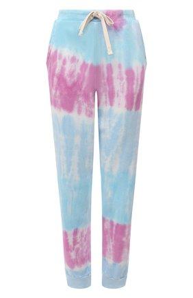 Женские хлопковые джоггеры ELECTRIC&ROSE разноцветного цвета, арт. LFBT28-PRISM | Фото 1 (Материал внешний: Хлопок; Длина (брюки, джинсы): Стандартные; Женское Кросс-КТ: Джоггеры - брюки, Брюки-спорт; Стили: Спорт-шик; Силуэт Ж (брюки и джинсы): Джоггеры)