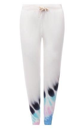 Женские хлопковые джоггеры ELECTRIC&ROSE разноцветного цвета, арт. LFBT08-BEAM | Фото 1 (Материал внешний: Хлопок; Женское Кросс-КТ: Джоггеры - брюки, Брюки-спорт; Стили: Спорт-шик; Силуэт Ж (брюки и джинсы): Джоггеры; Длина (брюки, джинсы): Укороченные)