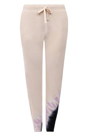 Женские хлопковые джоггеры ELECTRIC&ROSE разноцветного цвета, арт. LFBT08-ECH0 | Фото 1 (Материал внешний: Хлопок; Женское Кросс-КТ: Джоггеры - брюки, Брюки-спорт; Стили: Спорт-шик; Длина (брюки, джинсы): Стандартные; Силуэт Ж (брюки и джинсы): Джоггеры)