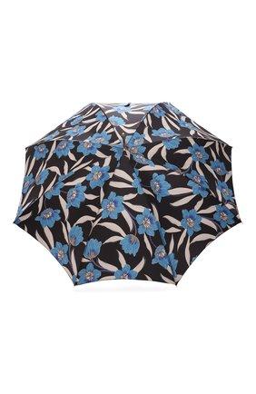Женский зонт-трость PASOTTI OMBRELLI разноцветного цвета, арт. 20/RAS0 5Z779/2/PELLE | Фото 1 (Материал: Металл, Текстиль, Синтетический материал)