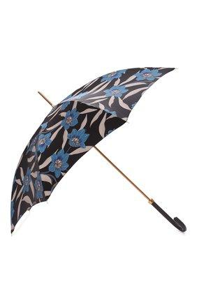 Женский зонт-трость PASOTTI OMBRELLI разноцветного цвета, арт. 20/RAS0 5Z779/2/PELLE | Фото 2 (Материал: Металл, Текстиль, Синтетический материал)