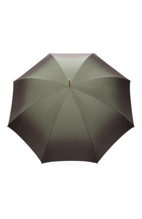 Женский зонт-трость PASOTTI OMBRELLI хаки цвета, арт. 189/RAS0 90115/5/A35 | Фото 1