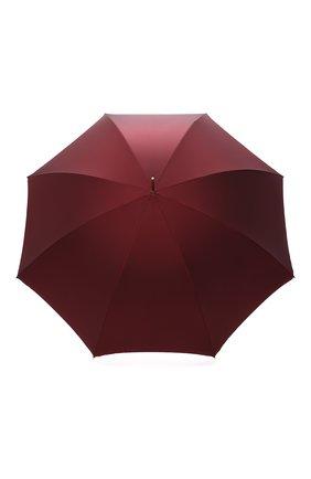 Женский зонт-трость PASOTTI OMBRELLI бордового цвета, арт. 189/RAS0 5V777/1/Z16 | Фото 1
