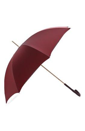 Женский зонт-трость PASOTTI OMBRELLI бордового цвета, арт. 189/RAS0 5V777/1/Z16 | Фото 2