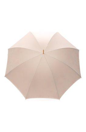 Женский зонт-трость PASOTTI OMBRELLI кремвого цвета, арт. 189/RAS0 57982/11/A35 | Фото 1 (Материал: Текстиль, Металл, Синтетический материал)