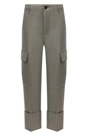 Женские брюки ERIKA CAVALLINI хаки цвета, арт. W1/P/P1WF04 | Фото 1