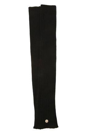 Женские шерстяные митенки RICK OWENS черного цвета, арт. RP02A7488/M | Фото 1