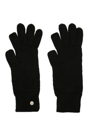 Женские шерстяные перчатки RICK OWENS черного цвета, арт. RP02A7492/M | Фото 2