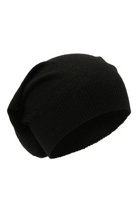Женская шерстяная шапка RICK OWENS черного цвета, арт. RP02A7493/M   Фото 1