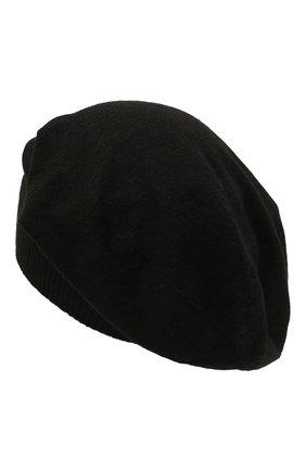 Женская шерстяная шапка RICK OWENS черного цвета, арт. RP02A7493/M   Фото 2